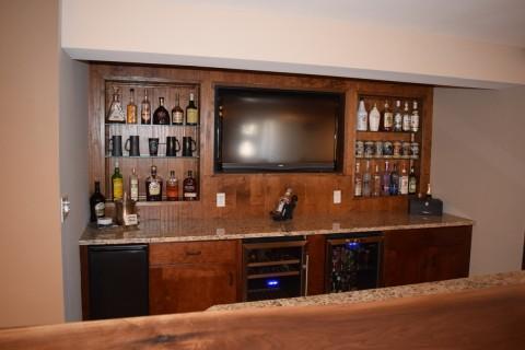 custom designed bar