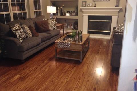 Hardwood Floor Installation – Weintraub Project