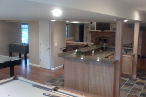 Basement Remodel – Cantor Project